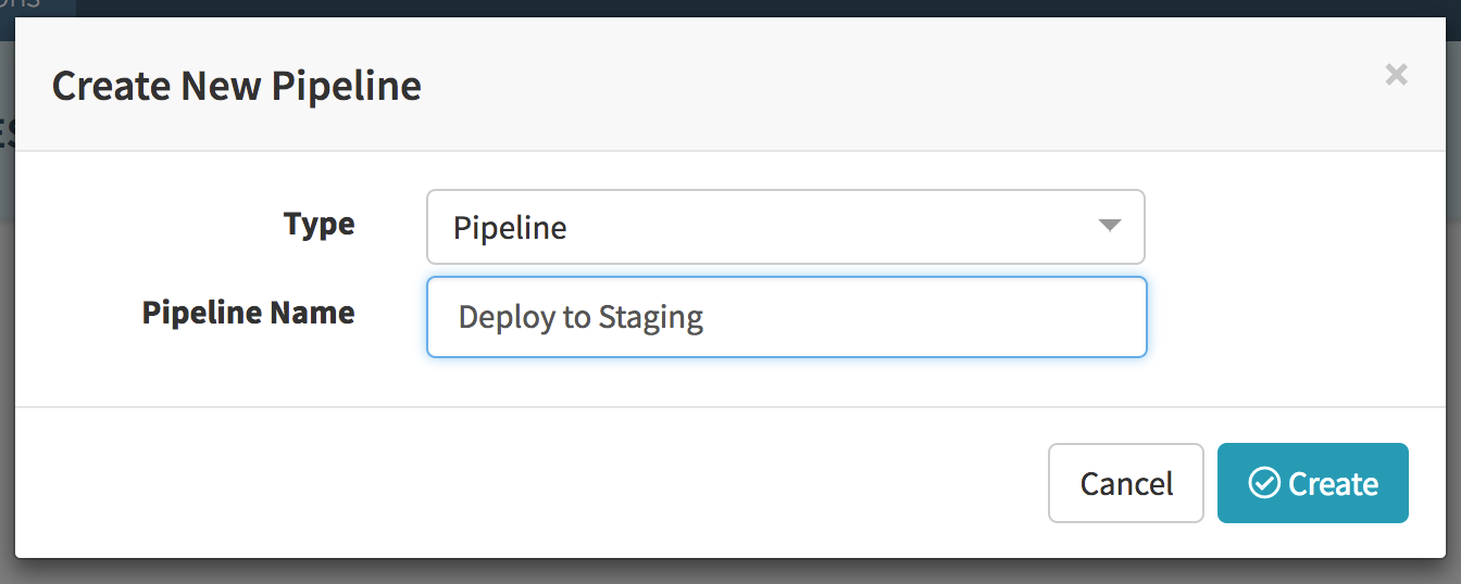 Deploy to Staging